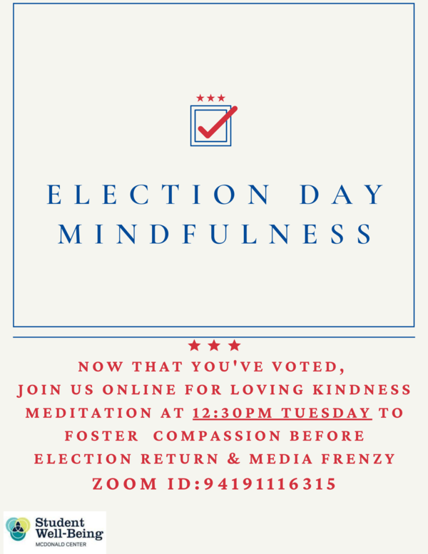 Election Day Mindfulness